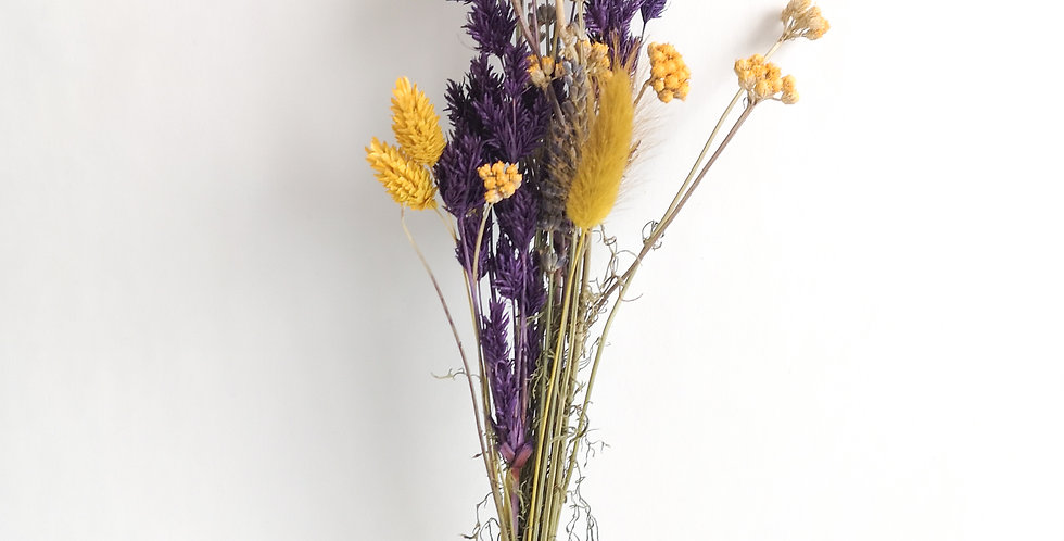 "Flores ""Purple & Yellow"" - Pequeno"