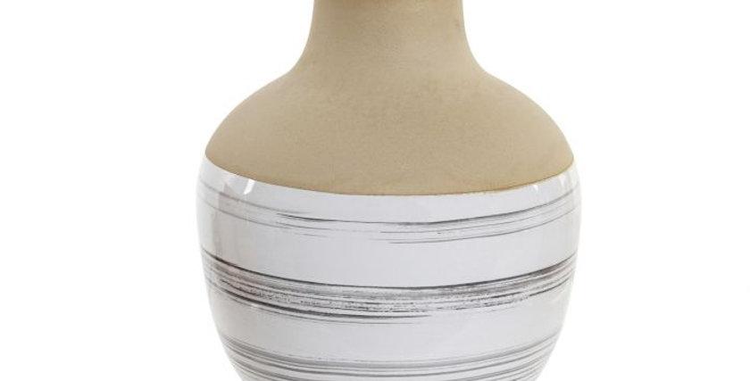 Jarro Cerâmica 10X10X13 - Mate Branco