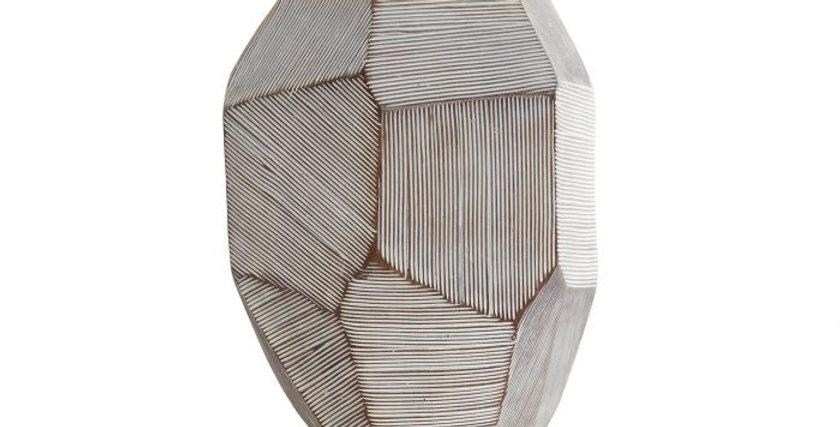 Jarro Resina 19X16X23 - Geométrico