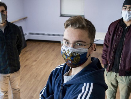 Connection through chaos: Brown School students in Schenectady tackle topic of empathy