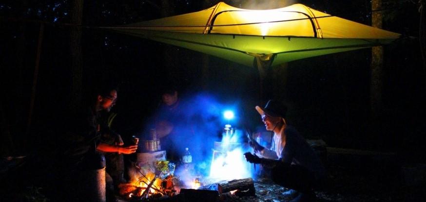 里山キャンプ始動