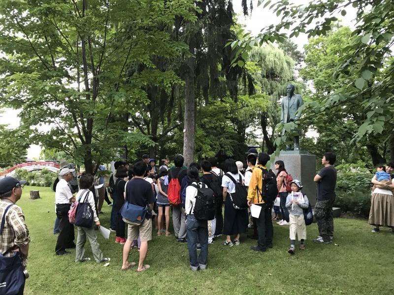 常磐公園でのコウモリ観察会の開催