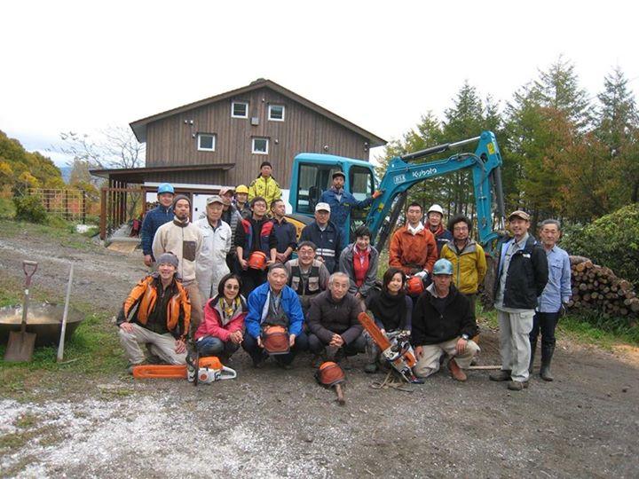 自伐型林業の研修会