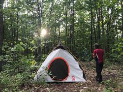 貸し出し用テント