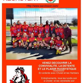 Vivez la passion du rugby et rejoignez-nous!!