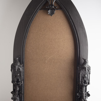 Frame detail: front view