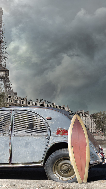 Paris 2166, digital print on German etching paper (10x15in. prints available for sale)