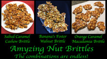 Amyzing Salted Caramel Nut Brittles