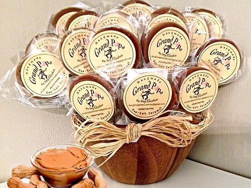 Peanut Butter   -   Five, 1 ounce pops