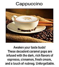Cappuccino Caramel Lollipop