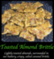 Toasted Almond Caramel Brittle