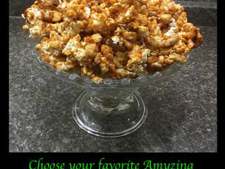 Amyzing Caramel Walnut Popcorn
