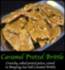 Salted Pretzel Caramel Brittle