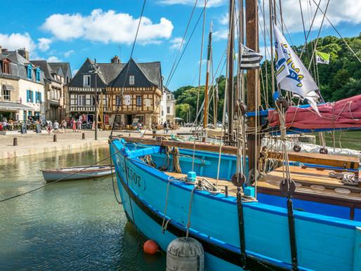 Balade sur le port de Saint Goustan