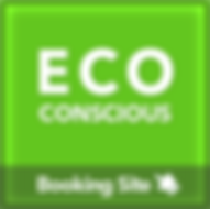 Eco conscious booking site