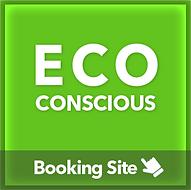 Eco conscious booking site