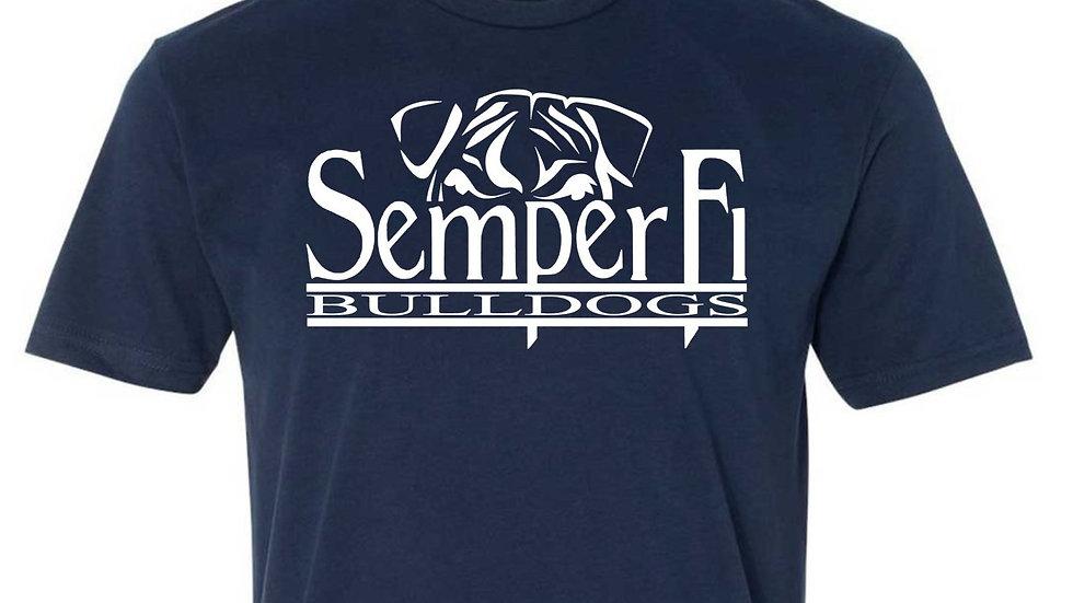 Unisex T-Shirt Semper Fi Logo