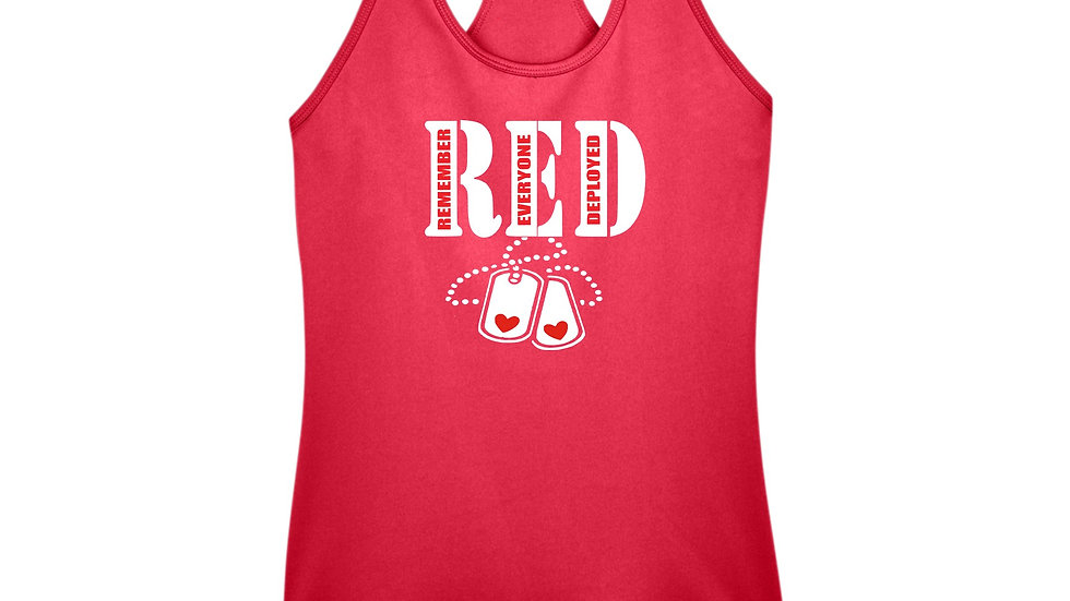 New RED Friday Racerback Tank Top