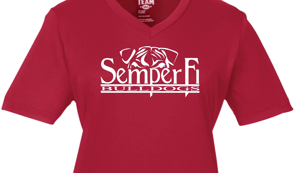 Ladies Dri Fit Semper Fi Logo