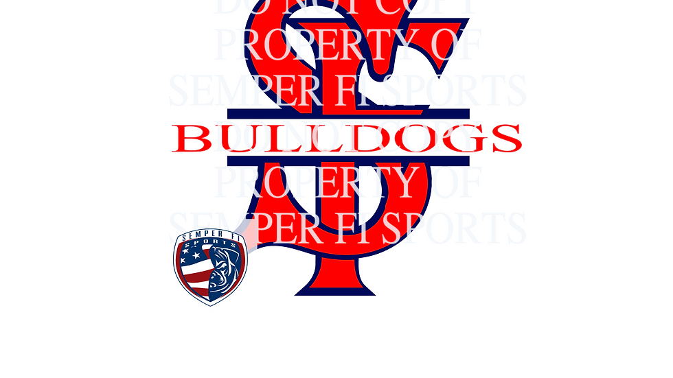 Red Bulldogs Stickers