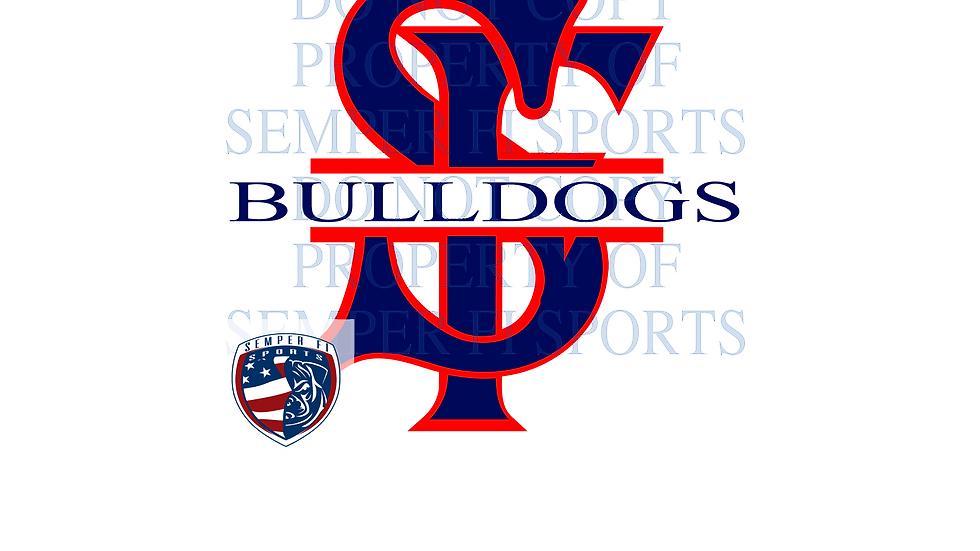 Navy Bulldog Sticker