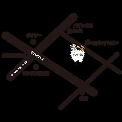 ともみっこ歯科地図