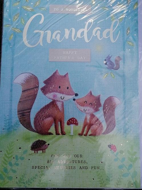 Brand New Grandad Card