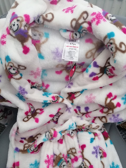 Brand New Girls Dressing Gown