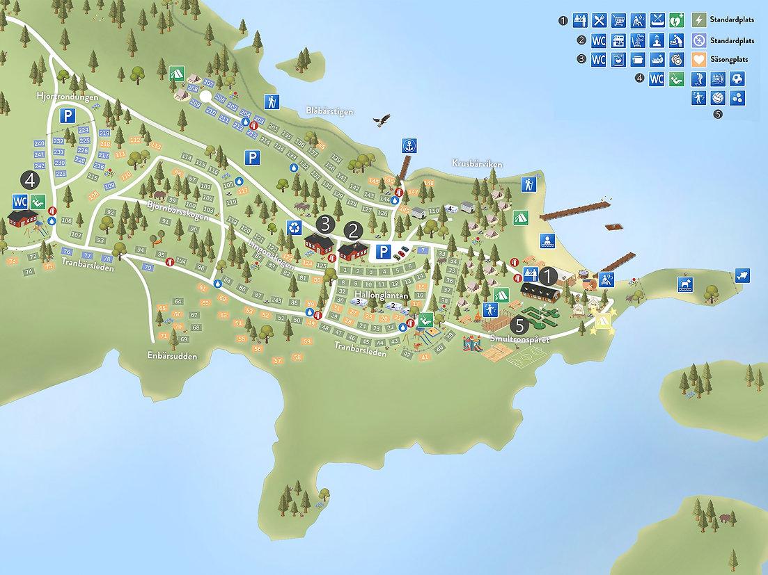 Kalmar Camping Karta