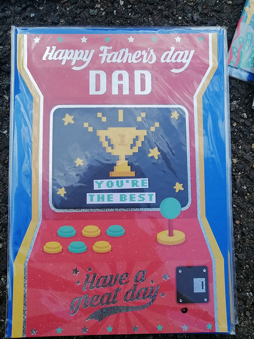 Brand New Fathers Day Card