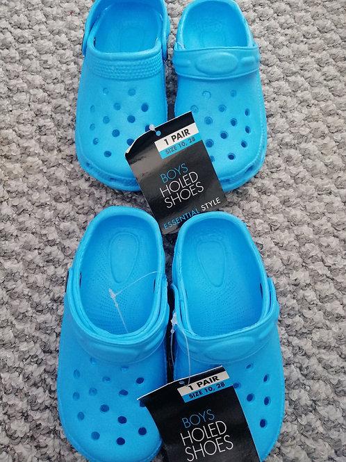 Light Blue Summer Shoes