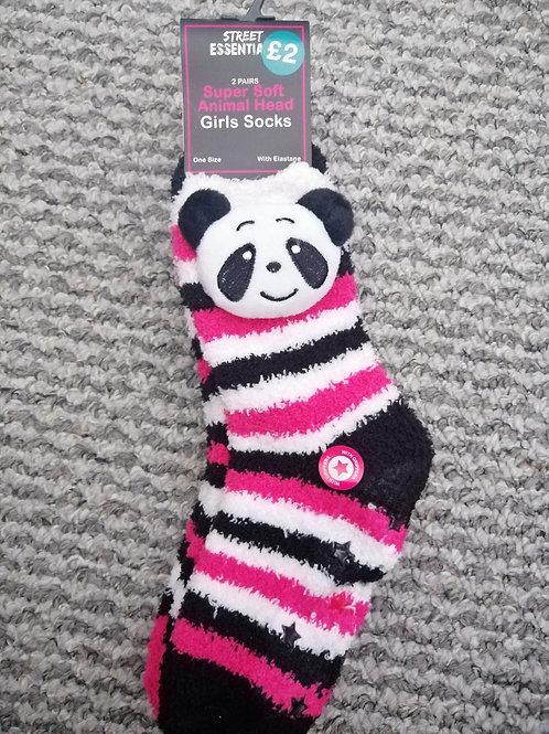 Brand new fluffy socks