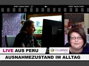 Ausnahmezustand im Alltag! LIVE aus Peru | Bine Vogel, Casa Yohana | Philipp Hahn, Rabl & Hahn
