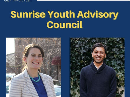 Annoucing Youth Advisory Council to the Offices of State Rep. Liz Fiedler + State Sen. Nikil Saval