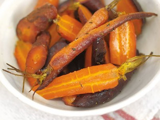 The Best Whole-baked Carrots!