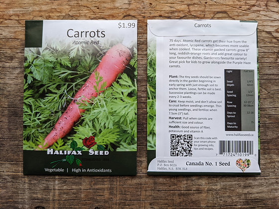 Carrots - Atomic Red