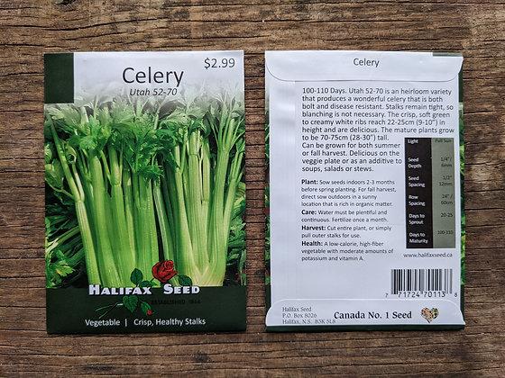 Celery - Utah 52-70