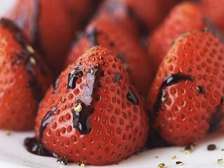 Balsamic Black Pepper Strawberries