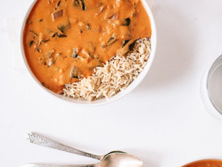 West African Peanut Soup c/o Candace!