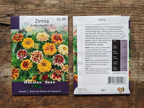 Zinnia - Button Box