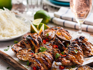 Grilled Chicken with Lemon Grass and Chilli