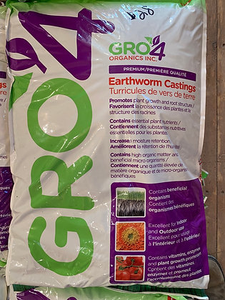 Earthworm Castings - 12kg (20L)