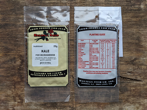 Microgreens - Kale  25g