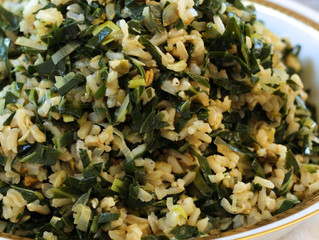 Dirty Rice w/ Collards & Leeks (vegan & gluten-free!)