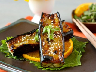 Grilled Japanese Eggplant