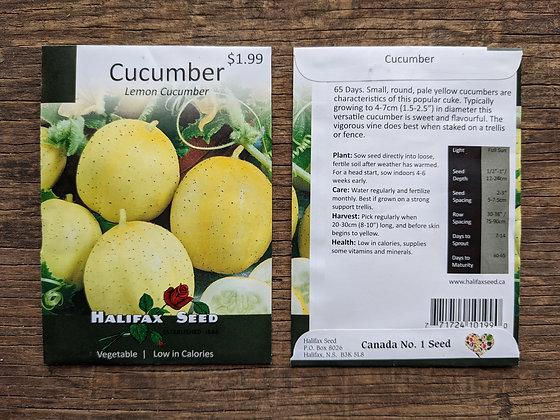 Cucumber - Lemon Cucumber