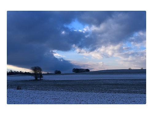 Winter in Bad Aibling über Ellmosen 2