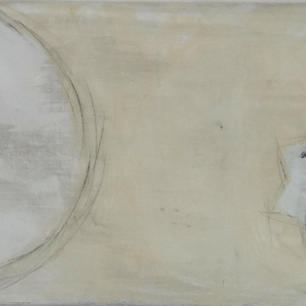Sternbild I, 50x150, Mischtechnik a. LW, 2021.JPG