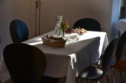Essen in der Villa Maria