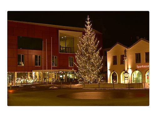 Weihnachten in Bad Aibling Marienplatz